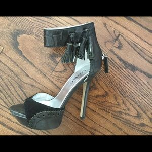 BeBe High Heel, black leather